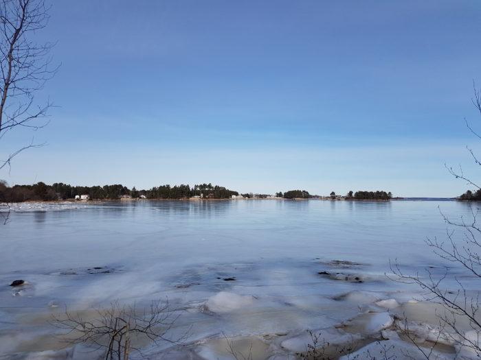Unobstructed views of the Narrows Basin of Mahone Bay