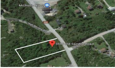 3596 Old Sambro, Williamswood, NS, ,Vacant Land,For Sale,Old Sambro,202004308